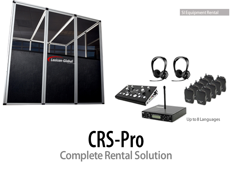 Interpretation Booth for Rent - Translation Equipment Rental